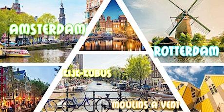 Amsterdam & Rotterdam & Moulins à Vents & Kijk-Kubus 2021 billets