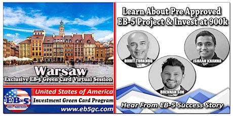 Warsaw EB-5 American Green Card Virtual Market Series tickets