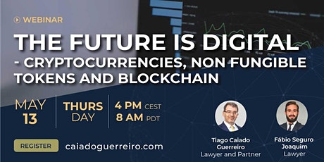 Webinar: The Future is Digital - Cryptocurrencies, NFTs and Blockchain tickets