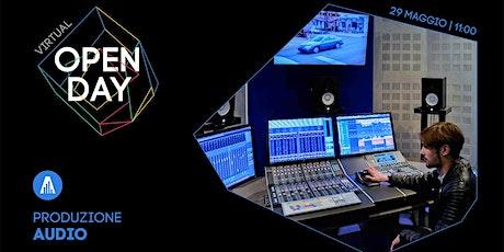 Virtual Open Day • Produzione Audio biglietti