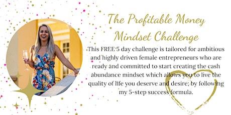 The Profitable Money Mindset Challenge tickets