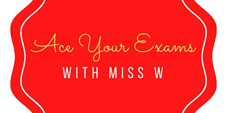 'Revise with Miss W' - AQA GCSE English Language Paper 1 Sec B (Writing) tickets