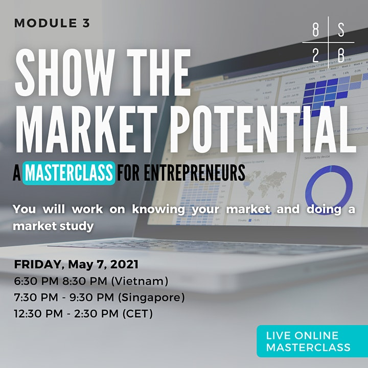 Masterclass: Show the market potential image
