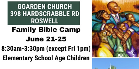 Family Bible Camp 2021 tickets