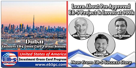 Dubai EB-5 American Green Card Virtual Market Series biglietti