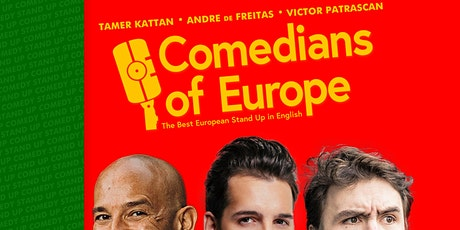 Comedians of Europe • 7 PM show • Stand up Comedy in English bilhetes