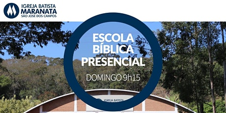 Escola Bíblica Dominical (EBD) - Presencial - MANHÃ | 09.05.2021 ingressos