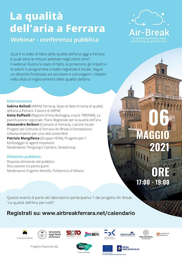 Immagine La qualità dell'aria a Ferrara: stato di fatto, politiche e progetti