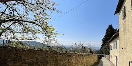 Trekking Urbano sulla collina di Quarto alle Montalve di villa la Quiete biglietti