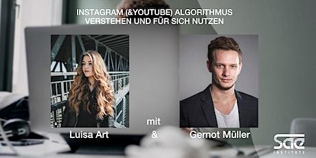 Instagram (&YouTube) Algorithmus verstehen und für sich nutzen Tickets