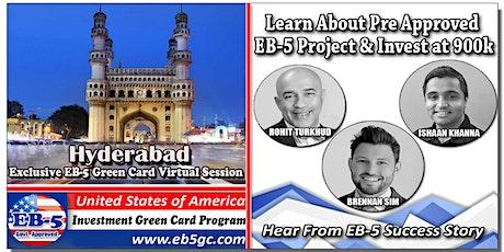 Hyderabad EB-5 American Green Card Virtual Market Series tickets