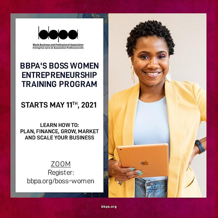 Boss Women Entrepreneurship Training Program 4.0! image