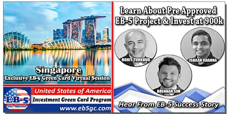 Singapore EB-5 American Green Card Virtual Market Series tickets