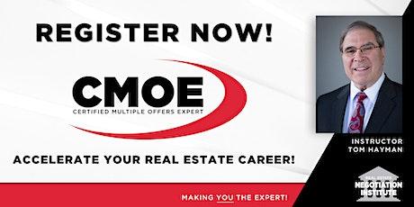 Certified Multiple Offers Expert (CMOE) - Zoom Class (Tom Hayman) tickets
