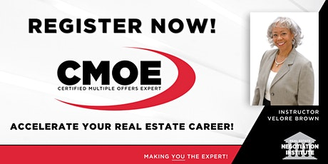 Certified Multiple Offers Expert (CMOE) -  Zoom Class (Velore Brown) tickets