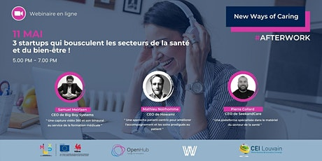 New Ways of Caring : Webinaire # AFTERWORK billets