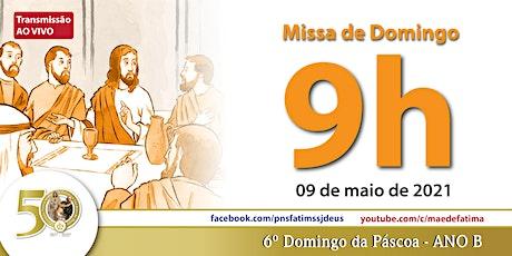 09/05 Missa 9h ingressos