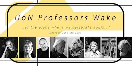 """Professors of Practice Et Al. """"Wake"""" tickets"""