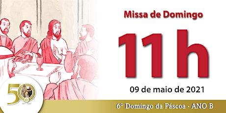 09/05 Missa 11h ingressos