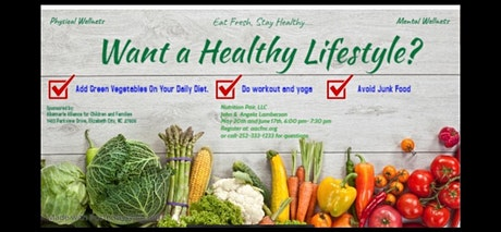 Healthy Lifestyles tickets