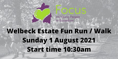 Fun Run - Welbeck Estate - Focus on Young People in Bassetlaw tickets