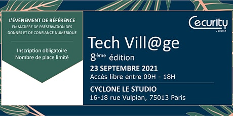 TechVill@ge 2021 billets