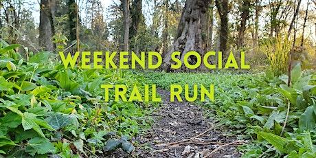 Weekend social trail run tickets