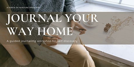 Journal Your Way Home tickets