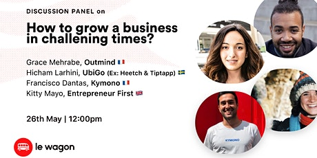[ONLINE] Panel Discussion: How to grow a Business in Challenging Times? biljetter