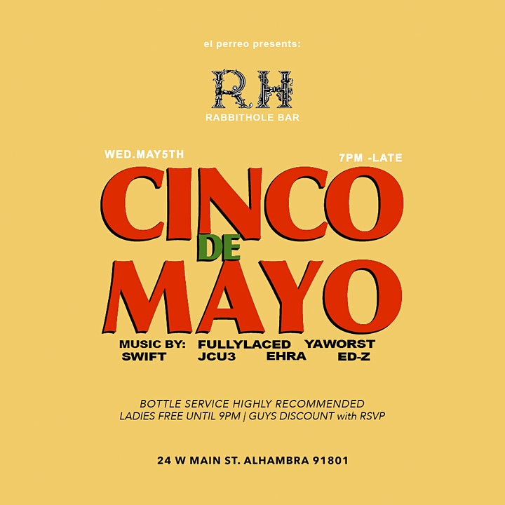 CINCO DE MAYO Celebration image