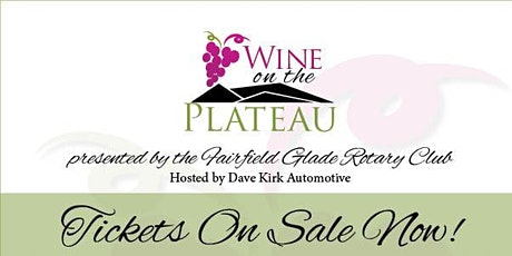 2021 Wine on the Plateau tickets