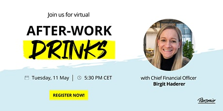 Have a (Virtual) After-Work Drink with Personio's CFO tickets
