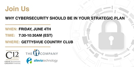 Why Cyber Security Should be in Your Strategic Plan tickets