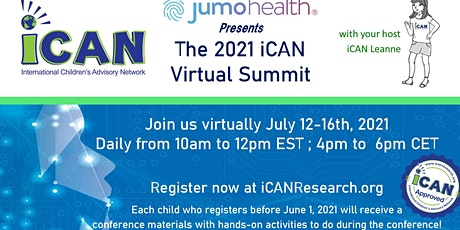 2021 iCAN Research Summit tickets