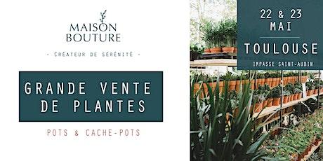 TOULOUSE // LE JARDIN ÉPHÉMÈRE DE MAISON BOUTURE - VENTE DE PLANTES billets