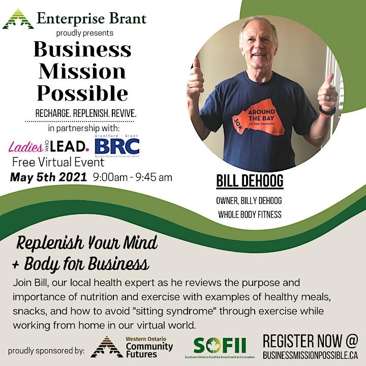 Business Mission PossibleRecharge. Replenish. Revive. image