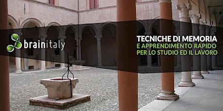 Correggio: Corso gratuito di memoria biglietti