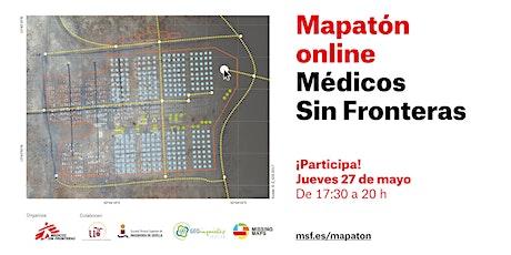 Mapatón online Médicos Sin Fronteras entradas
