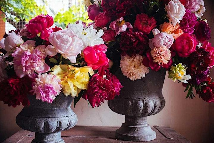 Immagine Peonia In Bloom - Art and Decoration negli antichi Orti - 2021