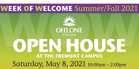 Ohlone College Open House - Week of Welcome (WOW) tickets