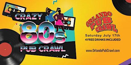 The 15th Annual Crazy 80's Pub Crawl tickets