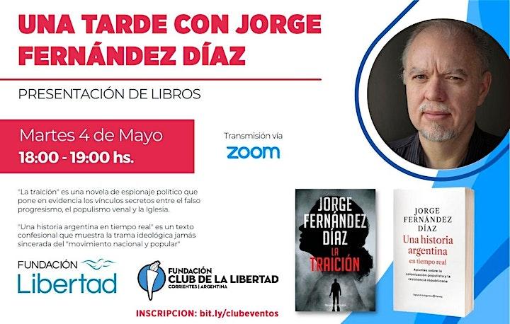 Imagen de CLUB DE LA LIBERTAD - UNA TARDE CON JORGE FERNANDEZ DIAZ