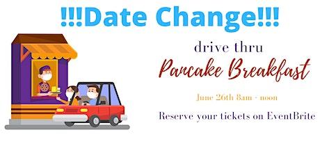 Drive Thru Pancake Breakfast billets