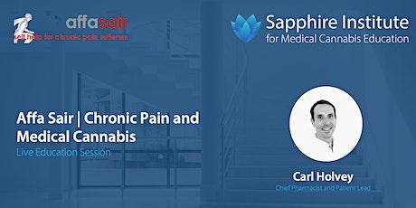 Affa Sair | Chronic Pain and Medical Cannabis tickets