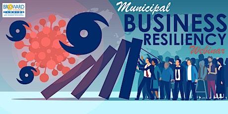 MUNICIPAL Webinar Business Resiliency tickets