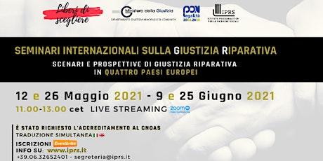 Seminari Internazionali sulla Giustizia Riparativa biglietti