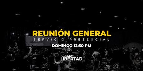 Reunión General 9 Mayo | Domingo 12:30 AM entradas