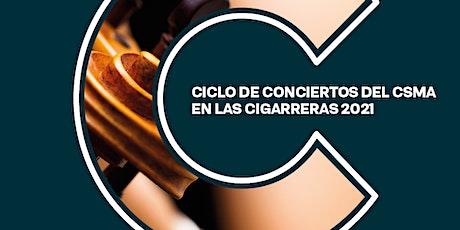 Recital Alumnos/as del CSMA. Percusión entradas