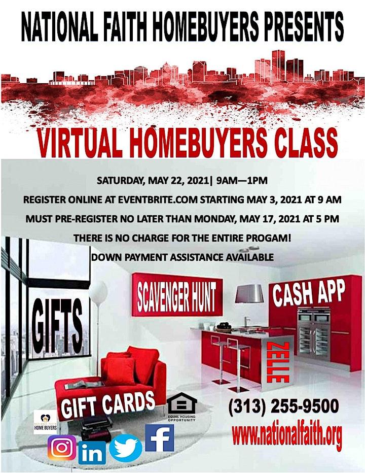 National Faith Homebuyers Virtual Workshop - MAY 2021 image