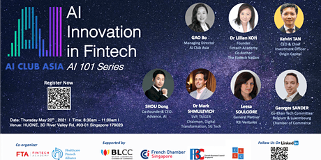 AI Innovation in Fintech - AI 101 Series tickets